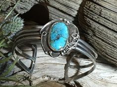 Turquoise Navajo Bracelet Sterling Silver Cuff http://www.thesterlingsilver.com/product/dower-hall-nomad-sterling-silver-beaten-pebble-drop-earrings/