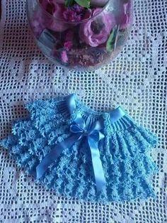 saia dupla Crochetsruth
