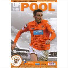 2012/2013 - Blackpool FC v Millwall FC, Football Programme