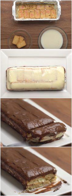 TORTA GELADA PASSATEMPO, eu amo essa receita e você também vai amar!! (veja o passo a passo) #torta #tortagelada #tortapassatempo
