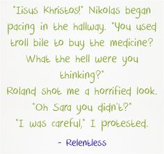 Quote from Relentless by Karen Lynch