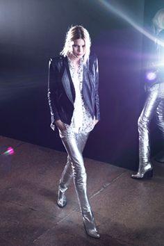 Theyskens Theory pre-fall 2012 [silver pants]