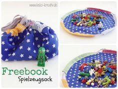 Freebook Spielzeugsack nähen