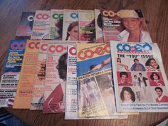 vintage co-ed magazines