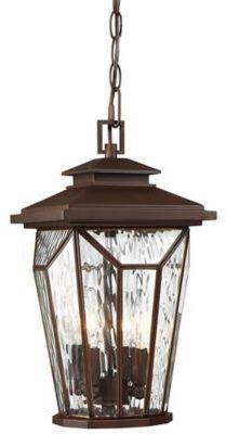 Minka Lavery The Great Outdoors® by Minka-Lavery® Satomi 4-Light Chain-Hung Lantern in Bronze
