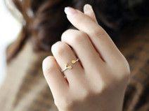 Sterling Silber Zweig Zweig ring