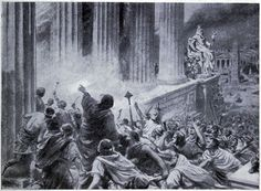Burning of the Library of Alexandria