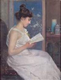 La lecture by Paul Alexandre Alfred Leroy
