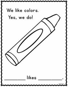 Enjoy this free class book. Students can practice printing their names and… Kindergarten Colors, Preschool Colors, Teaching Colors, Kindergarten Writing, Preschool Lessons, Kindergarten Literacy, Kindergarten Classroom, Literacy Centers, Math Lessons