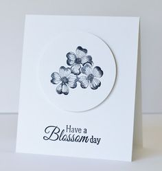 Scrapat helt enkelt: Have a blossom day!