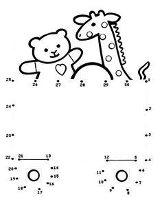 Toy dot-to-dot