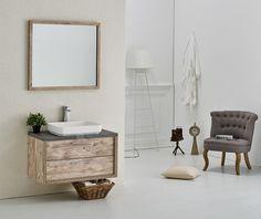 Badkamermeubel Indiana 90cm met spiegel