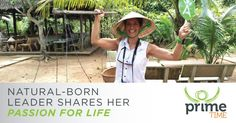 Transformational Tuesday. Natural-Born Leader Shares Her Passion for Life. plan.isagenix.com