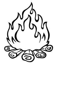 campfire clip art free | Campfire Free LDS Clipart