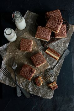 ondules033 Ondulés Noisettes (shortbread, crème de noisette, caramel beurre salé et ganache chocolat au lait)