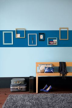 1000 images about feature walls on pinterest feature - Crown paint colours for living room ...