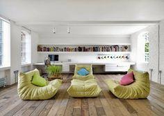 TOGO sofa from LIGNE ROSET www.lignerosetsf.com #Design #Furniture #LiveBeautifully