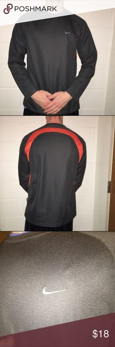 Mens Nike long sleeve Very comfortable and lightweight Nike Shirts Tees - Long Sleeve