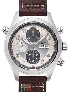IWC Pilot\'s relojes Classics Spitfire Double Cronografo IW3718