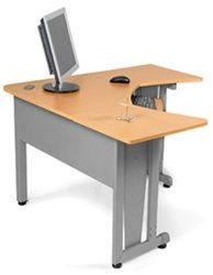 corner office computer desk. Fine Corner OFM Corner Style Computer Desk With Metal Accents  Desks Throughout Office Pinterest