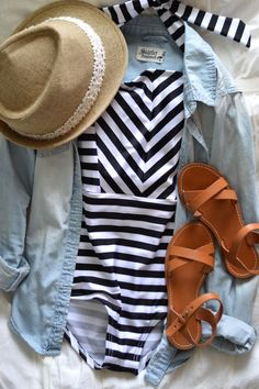 Finally Feeling Like Summer! How would you style your One piece suit from Beverly Swimwear.