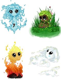 The Elements by Art-forArts-Sake.deviantart.com on @DeviantArt