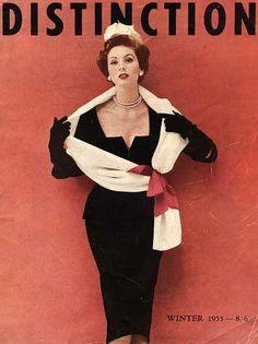 Distinction, Winter 1953 | Suzy Parker