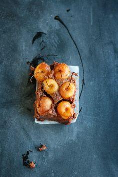 Brownie clafoutis
