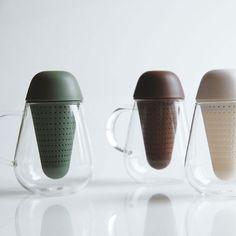 tea glas Design Elements, Modern Design, Water Bottle Design, Cup Design, Design Studio, Tea Set, Industrial Design, Kitchenware, Tableware