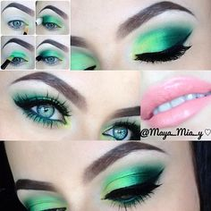 using the Coastal Scents 252 Ultimate Palette - @maya_mia_y