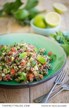 Quinoa Salad-the pretty blog
