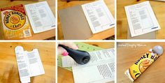 cereal box upcycling 9