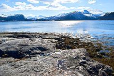 Utsikt mot Misvær sett fra Skjerstad     http://www.tursiden.no/utsikt-mot-misvaer-sett-fra-skjerstad/