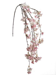 "Cherry Blossom Spray in Pink White 60"" Tall we could incorporate this into a brooch bouquet"