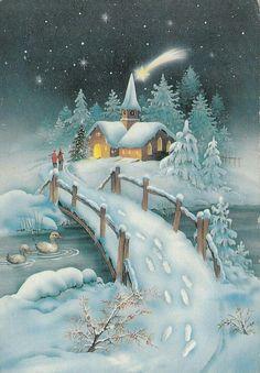 Paisaje navideño - Manualidades (pág. 829) | facilisimo.com