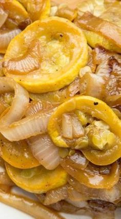 Recipe: Squash and Onions with Brown Sugar — Side Dish Recipes from Healthy meals Vegetarian Recipes, Healthy Recipes, Fine Cooking Recipes, Healthy Meals, My Recipes, Healthy Food, Onion Recipes, Side Dish Recipes, Recipes Dinner