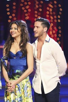 Dancing with the Stars Season 16, Week 1: Val Chmerkovskiy and Zendaya Coleman