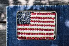 A flag cheesecake bar recipe that's easy and festive for cookouts and parties - The Washington Post