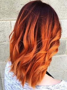 Copper Red Ginger Hair Color Ideas for 2018