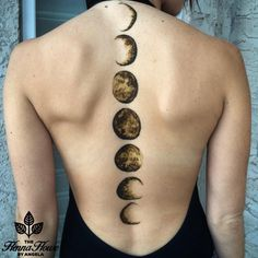 """93.2k Likes, 1,648 Comments - Wake Up and Makeup (@wakeupandmakeup) on Instagram: """"Phases of the moon henna by @hennabyang """""""