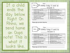Editable Behavior Plan  Dots Classroom Set  Behavior Plans And