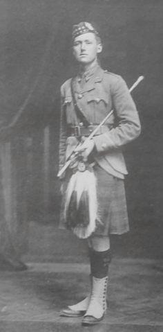Officer Gordon Highlanders