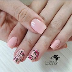 34 bright floral nail designs you should try for spring 2019 032 - Spring Nails Colorful Nail Designs, Nail Designs Spring, Nail Art Designs, Spring Nail Art, Spring Nails, Summer Nails, Light Colored Nails, Light Nails, Cute Nails