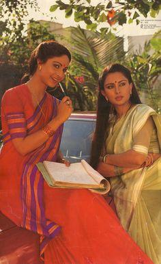 Rati Agnihotri & Poonam Dhillon