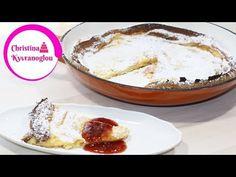 Κρεπα στο φουρνο με μαρμελαδα φραουλα / κρεπα φουρνου απο φινλανδια / Pannukakku - YouTube