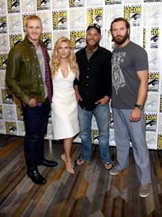 Alexander Ludwig, Katherin Winnick, Travis Fimmel and Clive Standen.