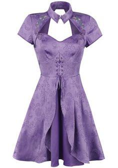Through The Looking Glass - Alice Chinese Dress - Korte jurk van Alice In Wonderland