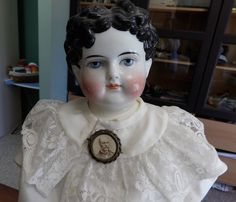 REDUCED Antique Grand Size German China Boy Doll