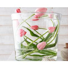 LOVE THIS!!!!!  It has my favorite flowers, pink tulips!