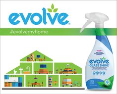 evolve® for a whole house clean. And, safe, too. Check out the entire line on our website. |#evolvemyhome #evolvecleans #cleanbetter #mainstreamgreen #greencleaning